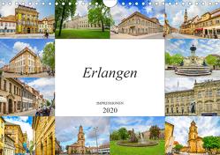 Erlangen Impressionen (Wandkalender 2020 DIN A4 quer) von Meutzner,  Dirk