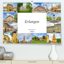 Erlangen Impressionen (Premium, hochwertiger DIN A2 Wandkalender 2020, Kunstdruck in Hochglanz) von Meutzner,  Dirk