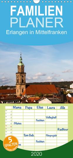 Erlangen in Mittelfranken – Familienplaner hoch (Wandkalender 2020 , 21 cm x 45 cm, hoch) von Kulla,  Alexander
