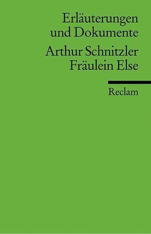 Erläuterungen und Dokumente zu Arthur Schnitzler: Fräulein Else von Polt-Heinzl,  Evelyne