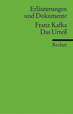 Erläuterungen und Dokumente zu Franz Kafka: Das Urteil von Müller,  Michael