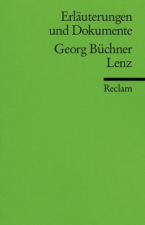 Erläuterungen und Dokumente zu Georg Büchner: Lenz von Schaub,  Gerhard