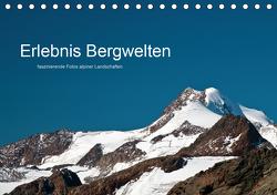 Erlebnis Bergwelten (Tischkalender 2021 DIN A5 quer) von Grosenick,  Uwe
