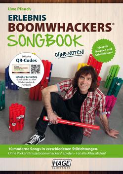 Erlebnis Boomwhackers® Songbook (mit MP3-CD) von Pfauch,  Uwe