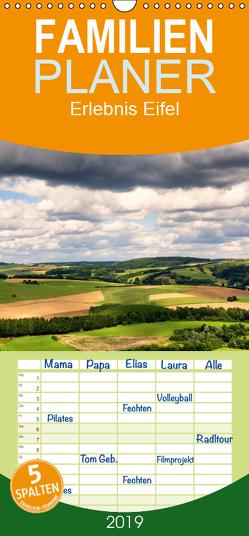 Erlebnis Eifel – Familienplaner hoch (Wandkalender 2019 , 21 cm x 45 cm, hoch) von Bücker,  Michael