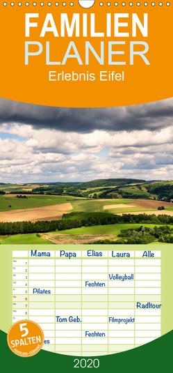 Erlebnis Eifel – Familienplaner hoch (Wandkalender 2020 , 21 cm x 45 cm, hoch) von Bücker,  Michael