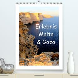 Erlebnis Malta & Gozo (Premium, hochwertiger DIN A2 Wandkalender 2021, Kunstdruck in Hochglanz) von Albilt,  Rabea