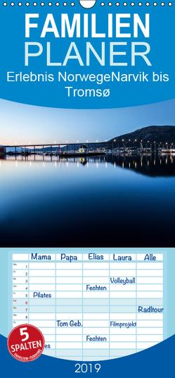 Erlebnis Norwegen: Narvik bis Tromsø – Familienplaner hoch (Wandkalender 2019 , 21 cm x 45 cm, hoch) von Philipp,  Daniel