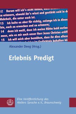Erlebnis Predigt von Deeg,  Alexander