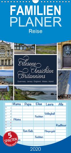 Erlesene Ansichten Britanniens – Familienplaner hoch (Wandkalender 2020 , 21 cm x 45 cm, hoch) von Kuhr,  Susann