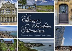 Erlesene Ansichten Britanniens (Wandkalender 2019 DIN A2 quer) von Kuhr,  Susann