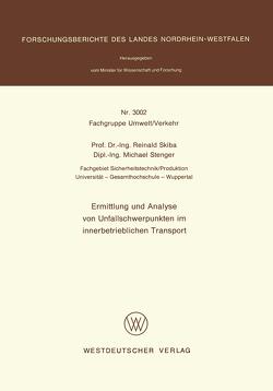 Ermittlung und Analyse von Unfallschwerpunkten im innerbetrieblichen Transport von Skiba,  Reinald