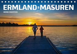 ERMLAND MASUREN (Tischkalender 2021 DIN A5 quer) von Maertens,  Bernd