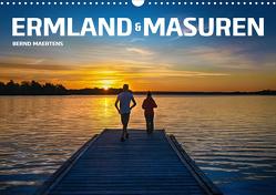 ERMLAND MASUREN (Wandkalender 2021 DIN A3 quer) von Maertens,  Bernd