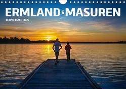 ERMLAND MASUREN (Wandkalender 2021 DIN A4 quer) von Maertens,  Bernd