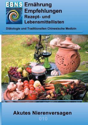 Ernährung bei akutem Nierenversagen von Miligui,  Josef