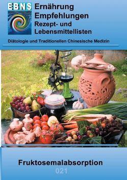 Ernährung bei Fruktosemalabsorption von Miligui,  Josef