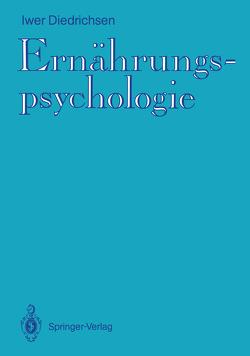 Ernährungspsychologie von Diedrichsen,  Iwer