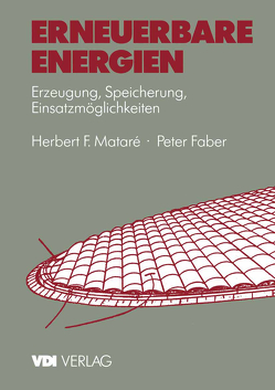Erneuerbare Energien von Faber,  Peter, Matare,  Herbert