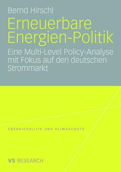 Erneuerbare Energien-Politik von Hirschl,  Bernd
