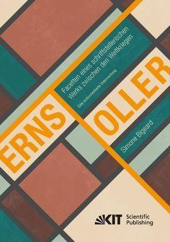 Ernst Toller – Facetten eines schriftstellerischen Werks zwischen den Weltkriegen. Eine motivorientierte Untersuchung von Bigeard,  Simone