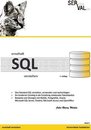 ernsthaft SQL verstehen von Wieken,  John-Harry