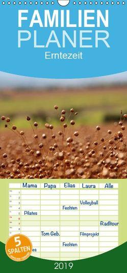 Erntezeit – Familienplaner hoch (Wandkalender 2019 , 21 cm x 45 cm, hoch) von Flori0