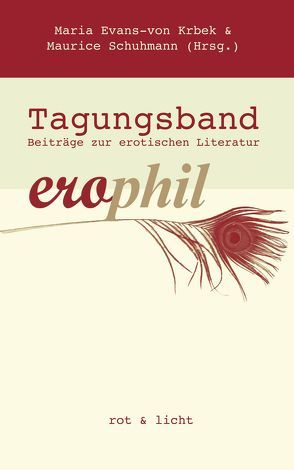 erophil – Tagungsband von Evans-von Krbek,  Maria, Schuhmann,  Maurice