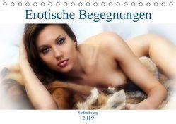 Erotische Begegnungen 2019 (Tischkalender 2019 DIN A5 quer) von Schug,  Stefan