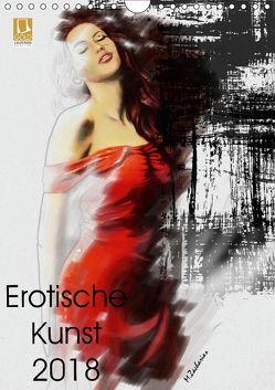 Erotische Kunst 2018 (Wandkalender 2018 DIN A4 hoch) von Zacharias,  Marita