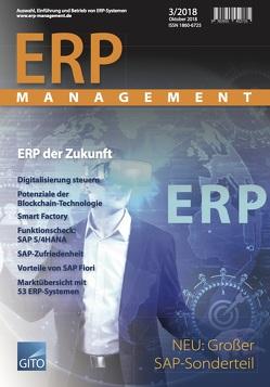 ERP Management 3/2018 von Gronau,  Norbert