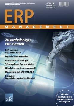 ERP Management 4/2018 von Gronau,  Norbert