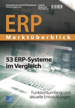 ERP Marktüberblick 3/2018 von Eggert,  Sandy