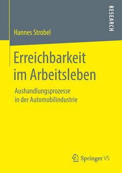 Erreichbarkeit im Arbeitsleben von Strobel,  Hannes
