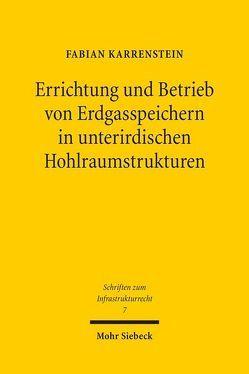 Errichtung und Betrieb von Erdgasspeichern in unterirdischen Hohlraumstrukturen von Karrenstein,  Fabian
