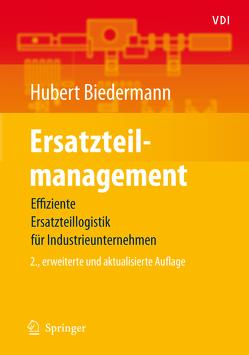Ersatzteilmanagement von Biedermann,  Hubert