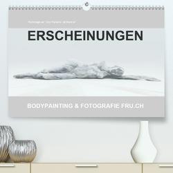 ERSCHEINUNGEN / BODYPAINTING & FOTOGRAFIE FRU.CH (Premium, hochwertiger DIN A2 Wandkalender 2021, Kunstdruck in Hochglanz) von Frutiger,  Beat