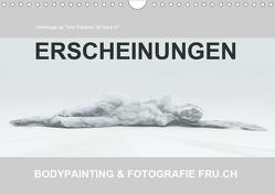 ERSCHEINUNGEN / BODYPAINTING & FOTOGRAFIE FRU.CH (Wandkalender 2021 DIN A4 quer) von Frutiger,  Beat