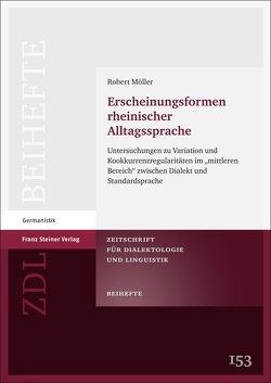 Erscheinungsformen rheinischer Alltagssprache von Moeller,  Robert