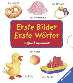 Erste Bilder – Erste Wörter (4 Titel im Schuber) von Spanner,  Helmut