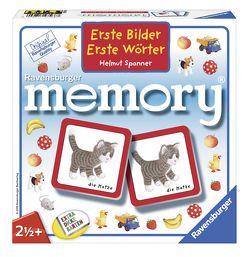 Erste Bilder – Erste Wörter memory® von Spanner,  Helmut