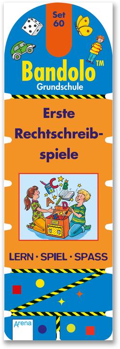 Erste Rechtschreibspiele von Barnhusen,  Friederike, Johannsen,  Bianca