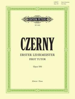 Erster Lehrmeister von Czerny,  Carl, Ruthardt,  Adolf