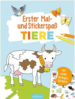 Erster Mal- und Stickerspaß Tiere von Beurenmeister,  Corina