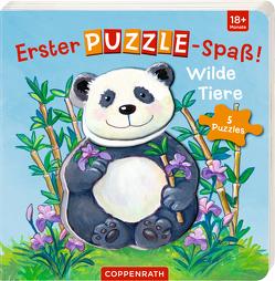 Erster Puzzle-Spaß! Wilde Tiere von Birkenstock,  Anna Karina