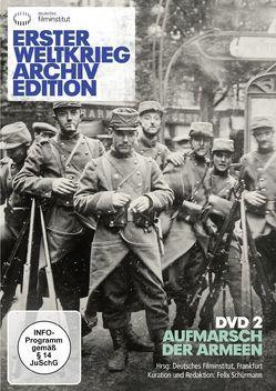 Erster Weltkrieg Archivedition (DVD 2) von Schürmann,  Felix