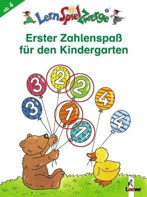 Erster Zahlenspaß für den Kindergarten von Penner,  Angelika