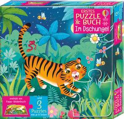 Erstes Puzzle & Buch: Im Dschungel von Iossa,  Federica, Taplin,  Sam