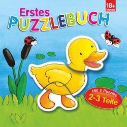 Erstes Puzzlebuch Ente von Brüggemann,  Vera