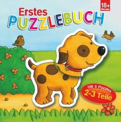 Erstes Puzzlebuch Hund von Brüggemann,  Vera